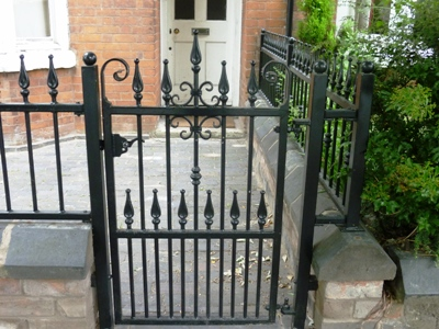 Wrought Iron Garden Gates Coventry West Midlands
