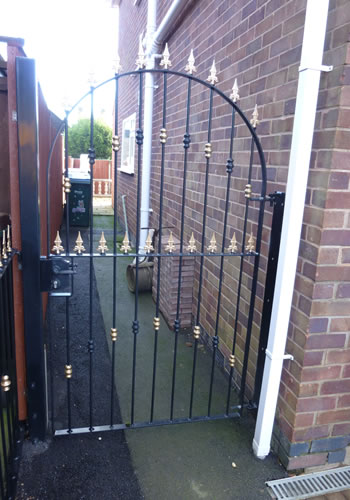 ... Wrought Iron Garden Gate Gallery